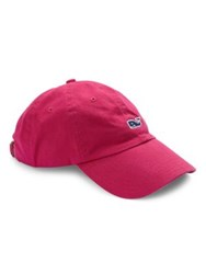 Vineyard Vines Embroidered Logo Baseball Cap Rhododendor