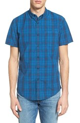Men's 1901 Overdyed Plaid Woven Shirt