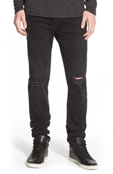 Rag And Bone 'Fit 1' Skinny Fit Jeans Rock With Holes