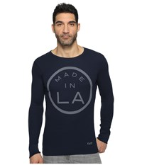 Kinetix Made In La Thermal Navy Men's Clothing