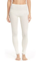 Women's Hanro Wool And Silk Thermal Leggings
