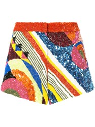 Manish Arora Geometric Patterned Shorts Nylon Polyester