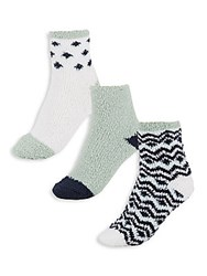 Ellen Tracy Soft Stretch Socks Set Of 3 Mint