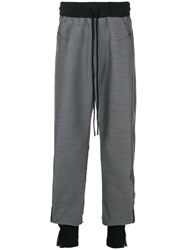 Lost And Found Ria Dunn Over Track Pants Grey