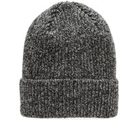 Mhl By Margaret Howell Mhl. Ribbed Beanie Black
