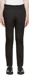 Helmut Lang Black Slim Trousers