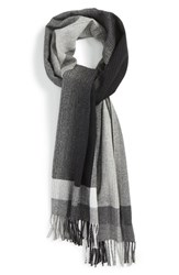 Men's Andrew Stewart Ombre Plaid Cashmere Scarf