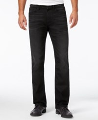 Kenneth Cole Reaction Men's Boot Cut Jeans Black