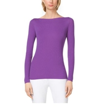 Michael Kors Boatneck Cashmere Sweater Lilac