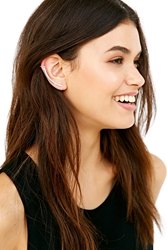 Urban Outfitters Delicate Bar Ear Climber Cuff Earring Silver