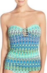 Bleu Rod Beattie Women's Bleu By Rod Beattle 'Heatwave' Bandeau Tankini Top
