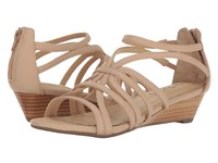Me Too Sofie Blush Nude Women's Wedge Shoes Beige