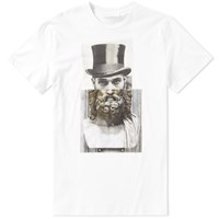 Neil Barrett Hybrid Lincoln Tee White