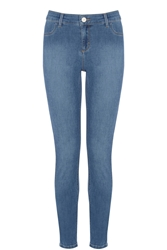 Oasis Copenhagen Wash Jade Crop Denim