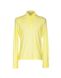 Capobianco Polo Shirts Yellow