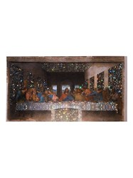 Browns X Sara Shakeel Multicoloured The Last Supper Crystal A2 Print 60