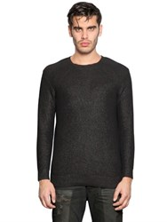 Diesel Coated Cotton Knit Sweater