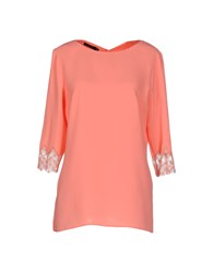 Nuvola Shirts Blouses Women Pink