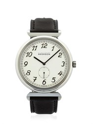 Alexandre Meerson Altitude Officer White Silver Watch