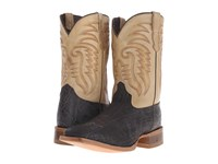 Old West Boots 60104 Chocolate Elephant Print Boston Taupe Cowboy Boots Brown
