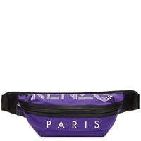 Kenzo Paris Sport Logo Waist Bag Purple