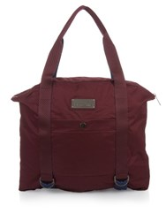 Adidas By Stella Mccartney Bi Colour Lightweight Gym Tote Burgundy