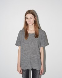 R 13 Rosie Tee Heather Grey