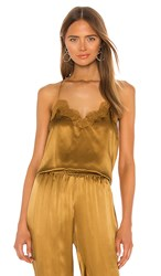 Cami Nyc X Revolve The Racer Charmeuse In Brown. Bone Brown
