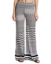 Missoni Mare Greca Bicolor Coverup Pants Multi