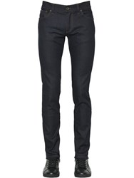 Dolce And Gabbana 16.5Cm Cowboy Patch Stretch Denim Jeans