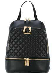 Baldinini Quilted Backpack Women Leather One Size Black