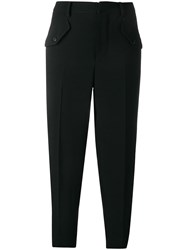 N 21 No21 Cropped Cargo Trousers Black