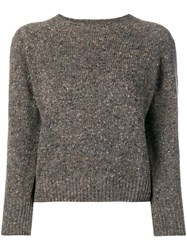 Margaret Howell Soft Donegal Sweater Neutrals