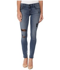 Level 99 Liza Skinny In Lake Blue Lake Blue Women's Jeans