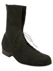 Alice Waese Lace Up Boot Black