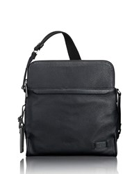 Tumi Stratton Leather Crossbody Bag Black