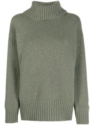 Pringle Of Scotland Guernsey Stitch Roll Neck Jumper 60