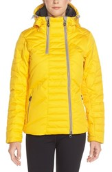 Women's Lole 'Alta' Water Resistant Quilted Jacket Daffodil