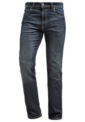 Bugatti Nevada Straight Leg Jeans Dirty Wash Blue