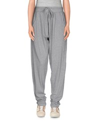 American College Trousers Casual Trousers Women Light Grey
