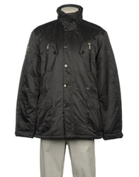Fred Mello Mid Length Jackets Steel Grey