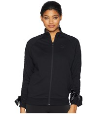 Puma Bow Track Jacket Cotton Black Coat