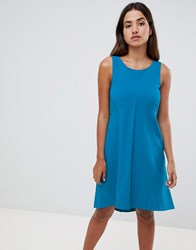 Closet London A Line Dress Blue
