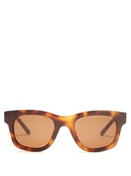 Sun Buddies Bibi D Frame Sunglasses Brown Multi