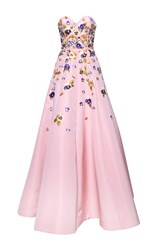 Andrew Gn Sweetheart Gown Pink