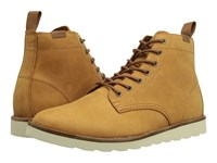 Vans Sahara Boot Leather Light Brown Men's Lace Up Boots