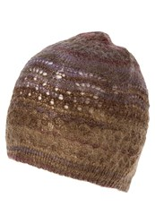 United Colors Of Benetton Hat Mauve Brown