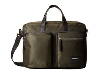 Diesel Beat The Box Crash Briefcase Forest Night Black Briefcase Bags Green