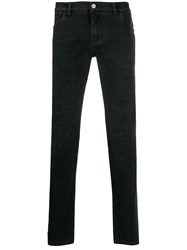 Dolce And Gabbana Distressed Slim Fit Jeans 60