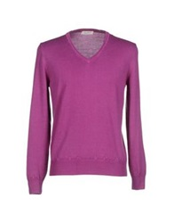 Cains Moore Sweaters Fuchsia